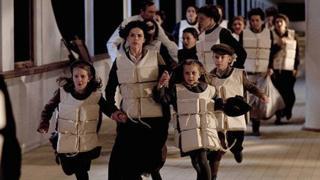 A scene from ITV1's Titanic