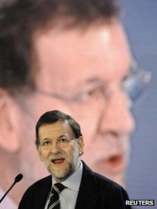 Spanish PM Mariano Rajoy (17 March 2012)