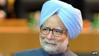Indian Prime Minister Manmohan Singh at Nuclear Security Summit in Seoul, South Korea - 27 March 2012