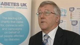 Graham Cooper, Diabetes UK