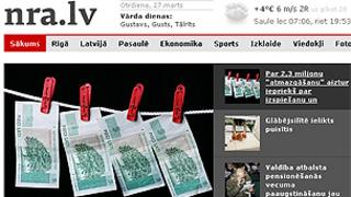 Latvian news website