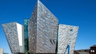 The flagship Titanic Signature building in Belfast