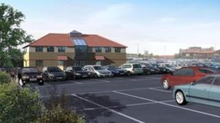 An artist's impression of the new Butterwick Hospice. Photo: Butterwick Hospice