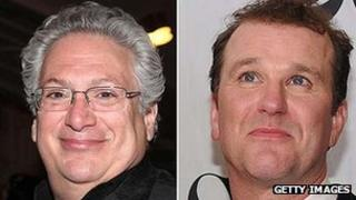 Harvey Fierstein and Douglas Hodge