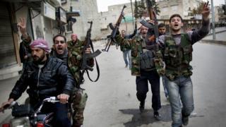 Free Syrian Army in Idlib