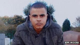 Mark Duggan, shot in August 2011
