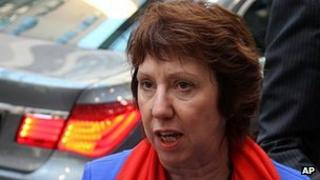EU foreign policy chief Baroness Catherine Ashton
