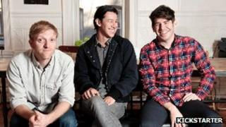 Kickstarter's founders