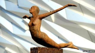 "The ""Titanica"" sculpture"