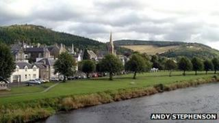 Peebles - Image by Andy Stephenson