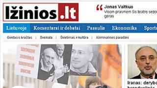 Lithuanian news website