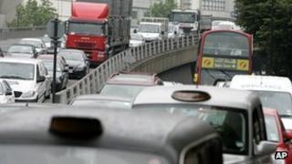 London traffic, file pic