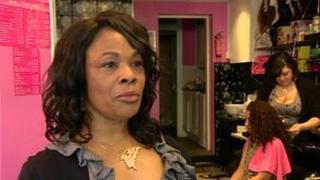 Hairdresser Louise Johnson