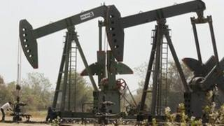 Oil well in India