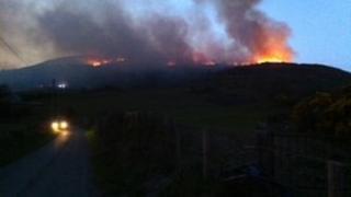 Camlough fire