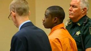 Shawn Tyson inside the courtroom