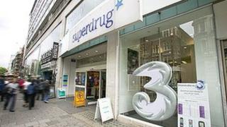 Superdrug branch on London's Oxford Street