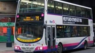 First bus in Glasgow