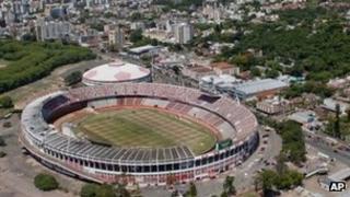 Beira-Rio stadium in Porto Alegre, Brazil (file image)