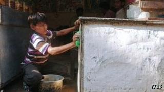 File photo of Indian child labour