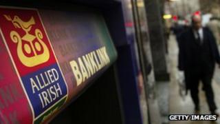 Allied Irish cash machine, London