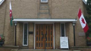 Dewi Sant Welsh United Church in Toronto