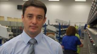 Guernsey Post chief executive Boley Smillie