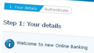 Barclays new online banking page