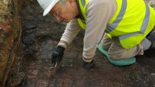 Greyfriars dig in Gloucester