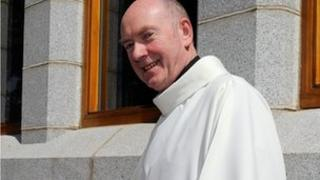 Father Martin McVeigh said he had no knowledge of the images