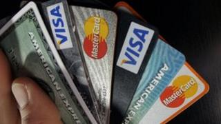 Selection of credit cards
