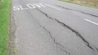Road cracking