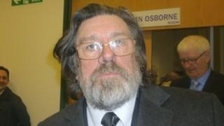 Ricky Tomlinson in Birmingham on Tuesday