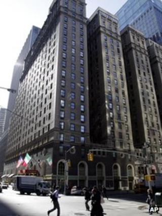Michelangelo Hotel, Manhattan, 4 April 2012