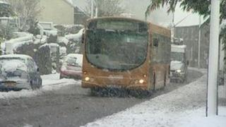 Snow in Belper