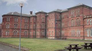 The Victorian exterior of Broadmoor