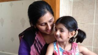 Shameem Asghar and her daughter Maha