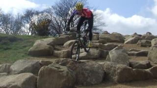 New section of the Hadleigh Farm Olympic mountain bike course