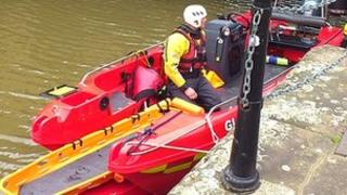 Gloucestershire Fire and Rescue Service boat