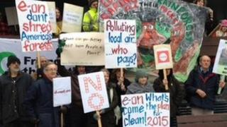 Ironbridge Power Station protesters