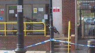Suspicious device outside job centre