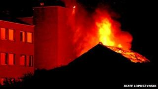 Fire in Walsall