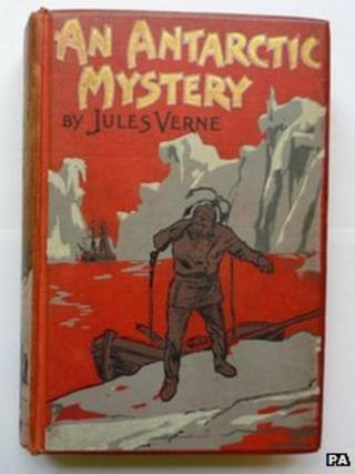 Antarctic Mystery by Jules Verne