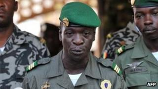 Captain Amadou Sanogo, 3 April 2012