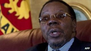 Malawi's President Bingu wa Mutharika - 18 July 2011