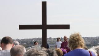 The Archbishop of Wales in Barry on Friday