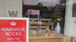 Shop in Warwick. Picture courtesy of WarwickTweetUp
