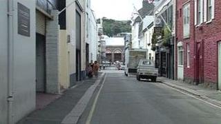 James Street which is being renamed Rue de Funchal
