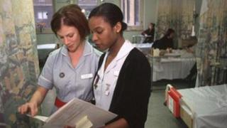 Nurses at work