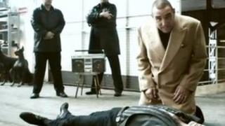 Still of Vinnie Jones CPR advert